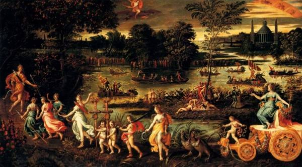 An Allegory Of The Triumph Of Summer